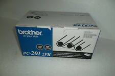 Brother PC-201 Print Cartridges Black Fax-11770mfc Fax-1030 450-Page PC201 NEW