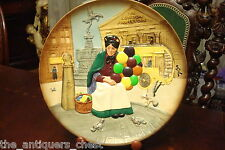 Vintage Royal Doulton Porcelain The Old Balloon Seller Plate Nib