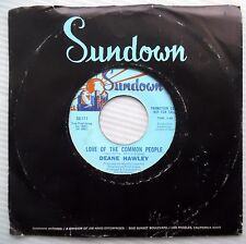 DEANE HAWLEY love of the common people I hate to see me go 1969 pop 45 e5518