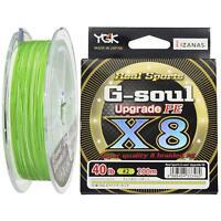 NEW Yotsuami YGK G-Soul X8 Upgrade 40lb #2.0-200m PE 8 Braid Green Line Japan
