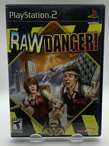 Raw Danger for Sony Playstation 2 PS2 CIB Complete Black Label NTSC By Agetec