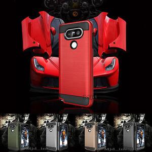For LG V20 / LG V30 Phone Case Slim Shockproof Brushed Armor Cover