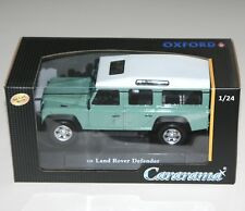 Cararama - LAND ROVER DEFENDER (Pale Green) - Die Cast Model - Scale 1:24
