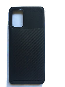 Carbon Fibre Texture Back Cover Case For Samsung Galaxy S20 Plus Shockproof