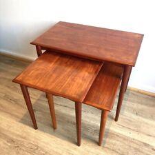 Parker nest of tables Nordic 1960s genuine restored mcm mid century