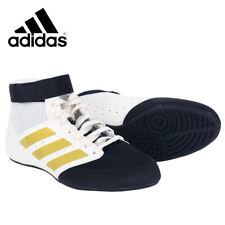 Adidas Mat Hog 2.0 Men's Boxing Shoes Training Wrestling White/Black Fu8167