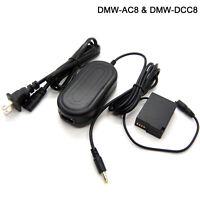 DC 8.4V Power AC Adapter For Panasonic Lumix DMC-FZ1000 II DMC-FZ2000 DMC-FZ2500