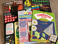 Vintage Computing Magazines Acorn User The Micro User etc.