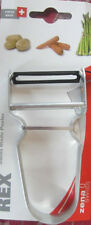 REX Potato Peeler Stainless Steel Handle Made in Swiss Guaranteed Quality