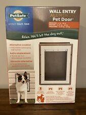 New listing New PetSafe Wall Entry Pet Door with Telescoping Tunnel Aluminum Medium