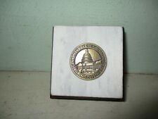 United States Capitol paperweight - piece of original marble steps 1996