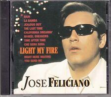 "CD ALBUM  JOSE FELICIANO ""LIGHT MY FIRE"""