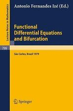 Functional Differential Equations and Bifurcation : Sao Carlos, Brazil 1879...
