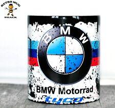 Retro BMW Motorrad Racing Motorcycle Oil Can Mug Tea Coffee Mug