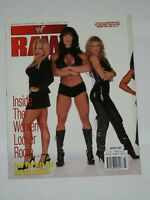 WWE MAGAZINE RAW MARCH 1999 WRESTLING DIVAS COVER SABLE VAL VENIS POSTER WWF