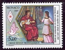 STAMP / TIMBRE DE MONACO N° 1692 ** CROIX ROUGE / VIE DE SAINTE DEVOTE