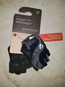 Bike Gloves Bontrager Sport Gloves BLACK WITH GRAY SMALL 2