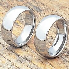 Classic Tungsten Ring, Every Width Available, Sizes 5-15 Available, Mens Ring