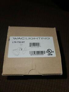 NEW WAC Lighting LTK-730-WT Line Voltage Track Head 75W White Lightolier (1F)