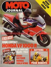 MOTO JOURNAL  644 HONDA VF 1000 Gold Wing GL 1100 XJ XT ZX GSX R80 KTM 495 1984