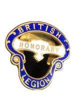 British Legion Honorary Badge