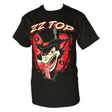 ZZ TOP WOLF  MEN'S T-SHIRT BLACK