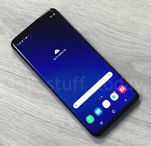 """Samsung Galaxy S9+ (SM-G965F), Coral Blue, 64GB, 6.2"""" Super AMOLED, good -856"""
