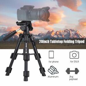 ZOMEi Q100 Aluminum Portable Mini Tabletop Tripod For Camera Panoramic PanHead