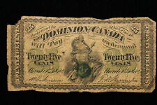 1870 Dominion of Canada. 25 Cents. (#2)