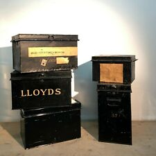 More details for vintage deed boxes