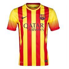Nike FC Barcelona Boy's Kids AWAY FOOTBALL SHIRT 2013/14 532809-703 L 12-13 ANNO