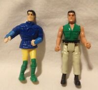 """Vintage ACTION MAN Hasbro McDonalds 4"""" Action Figures 1999 and 2000"""
