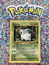 �� Pokemon 1999 Nidoran Jungle Set Nintendo Wizards WotC 1st Gen Vintage Card �