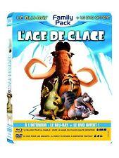 BLU RAY + DVD * L'AGE DE GLACE 3, LE TEMPS DES DINOSAURES * NEUF