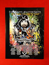 PANTERA <>DIMEBAG<> Dean Guitars ART Tribute Promo Poster<<>>SUPER RARE