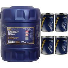 20L MANNOL Energy Combi LL 5W-30 API SN/CF Öl Motoröl Motorspülung Motor Flush