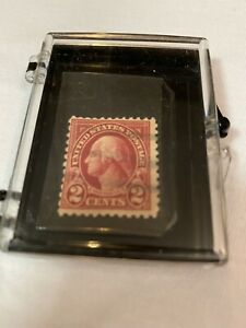 Collectible U.S. GEORGE WASHINGTON 2c Two Cent Red STAMP Very Rare***