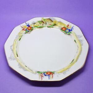 Royal Winton Ivory Grimwades Garden Scene Pattern number 9792 Plate