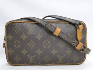 LOUIS VUITTON Shoulder Bag Marly bandouliere M51828 Monogram Brown K311800325