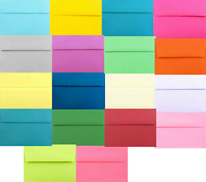 Multi Assorted A2 A6 A7 Astrobrights &more Envelope for Card Invitation Response