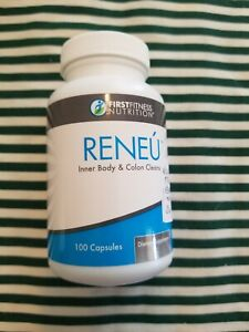 First Fitness Nutrition RENEU. 100 Capsules. Non-GMO. Vegan. NEW