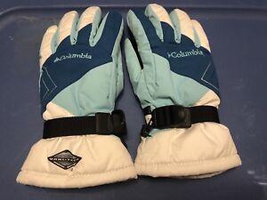 Columbia Gloves Omni-Tech Waterproof Winter Snow Raid Gloves Small