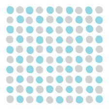 Contact Paper Blue Polka Dots Vinyl Wallpaper Self Adhesive Countertop Rolls