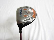 Used LH PING G10 15.5* 3 Fairway Wood 3W Aldila NV Pink 55 Stiff (S) flex
