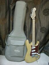 FENDER STRATOCASTER . Superb condition with maple fretboard and ash body.