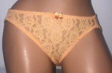 7065f280970 New ListingVintage Secret Treasures Coral Semi Sheer Nylon Hi Leg Sissy  Bikini Panties L