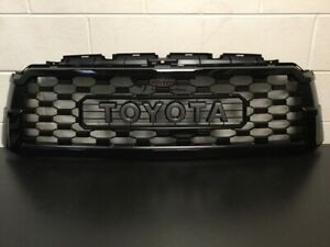 Genuine Toyota 2018 & Newer Sequoia TRD PRO Attitude Black 218 Grill PT363-0C200