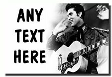 Elvis Presley Personalised Jumbo Fridge Magnet