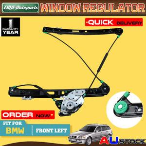 Front Left Window Regulator w/o Motor for BMW E46 99-05 316i 318i 320i 325i 328i