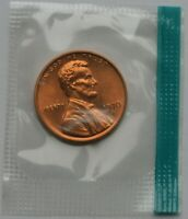 1970 S Lincoln Memorial Cent Choice BU Penny US Coin In Mint Cello